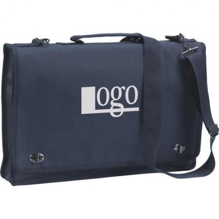 Asiakirjalaukku, asiakirjalaukku logolla