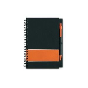 muistilehtiö a5 MO7396 oranssi
