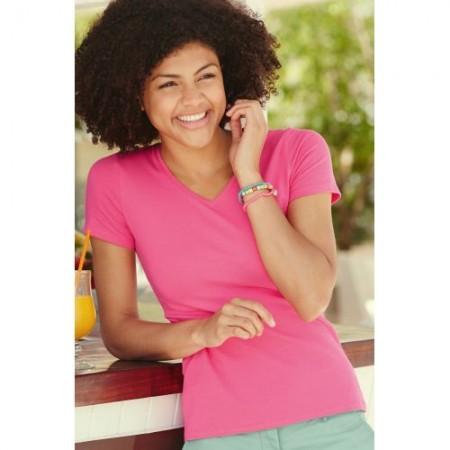 T-paita naisten V-aukkoinen 13820