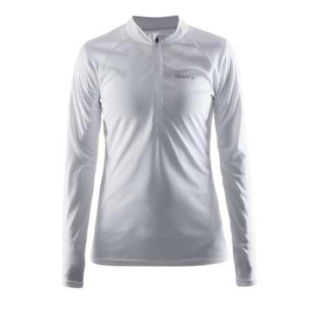 Pehmeä, tehokkaasti kosteutta siirtävä kevyt ergonominen pitkähihainen paita. Sivuilla hengittävyyttä lisäävät verkkoneulospaneelit. Puolivetoketju. Sopii hyvin juoksemiseen.