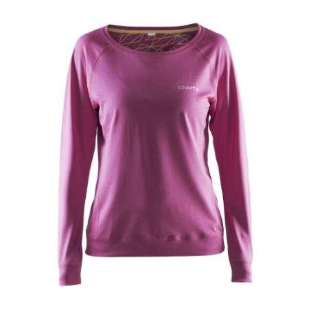 Pehmeä ja löysä pitkähihainen paita, jossa avara pääntie. Muotoillut hihat takaavat optimaalisen istuvuuden ja liikkuvuuden. Kevyttä materiaalia.