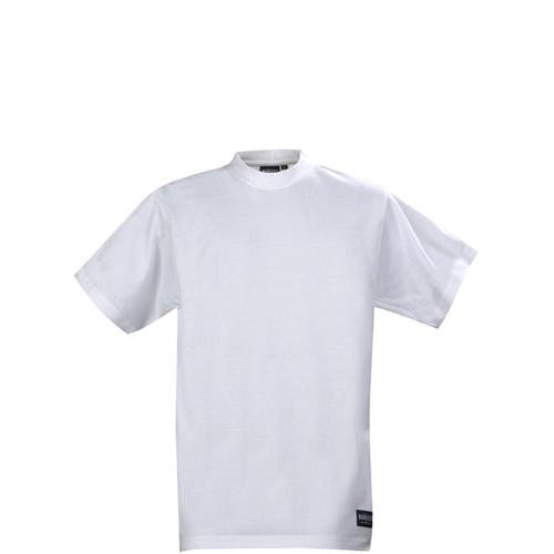 T-paita jossa vahvistetut olkasaumat ja lycralla vahvistettu kaulusresori. Nämä pienet yksityiskohdat vaikuttavat merkittävästi paidan muotoon ja kestävyyteen. Oikein mainio perus T-paita, josta todella huokuu laatu.