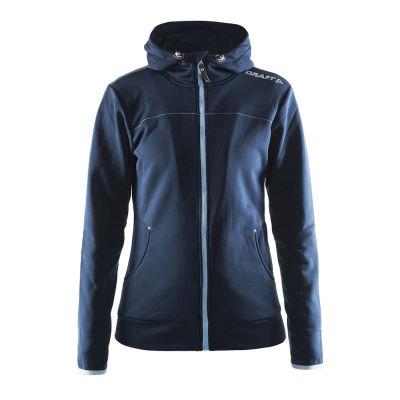 Tekninen takki naisten Leisure Full Zip Hood 1901693 W
