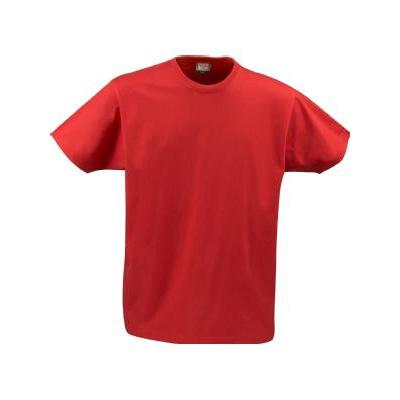 Muodikas t-paita, jossa on sivusaumat, vahvistetut olkasaumat ja niskasaumassa kaksoistikkaus. Elastinen, miellyttävän tuntuinen nelinkertainen kaularesori, pitää hyvin mallinsa.