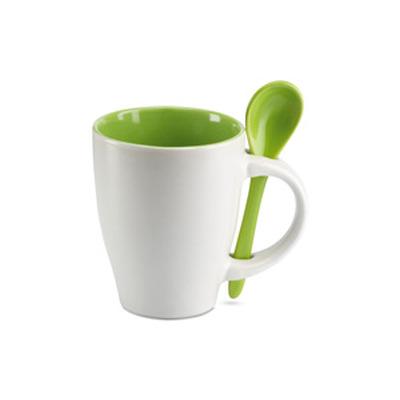 keraaminen kahvimuki MO7344 vihreä
