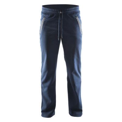 Collegehousut pehmeästä ja mukavasta polyesteristä. Kaksi vetoketjullista taskua. Hyvä istuvuus.