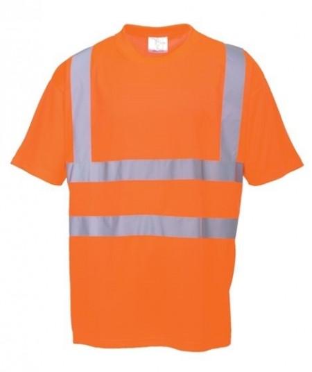 Hi-Vis malliston huomio t-paidat on valmistettu fluorisoivasta 100% polyesteri neuloksesta. Neuloksen rakenne on kevyt, ilmava ja mukava kaikissa oloissa. Kangas suojaa myös auringolta ja on sen takia ihanteellinen kesäkuukausina. T-paita on loistava yhdistelmä tyyliä, toimivuutta ja suojaa.  Huomioasut on luokiteltu EN ISO 20471 ja EN343 mukaan. Tuote vastaa EU:n terveys- ja turvadirektiiviä. Oranssi t-paita (RT23) täyttää rautatieliikenteen erityiset turvavaatimukset.  S478 (keltainen ja punainen): EN ISO 20471 luokka 2. CE-hyväksytty. Neulos 150g. Keltainen XS-XXXXXL, punainen S-XXXL. UPF 35. RT23 (oranssi): EN ISO 2471 luokka 2. GO/RT 3279 julkaisu 8. CE-hyväksytty. Koot XS-XXXXXL.