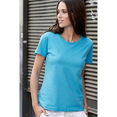 t-paita naisten 1050 turkoosi2