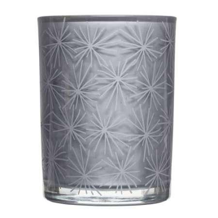 Granaattiomenalta tuoksuva tuoksukynttilä (vaha) lasikupissa. Pakattu lahjapakkaukseen.