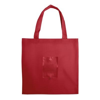 taitettava ostoskassi MO3904 punainen1