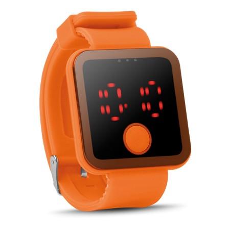 LED-rannekello MO8653 oranssi1