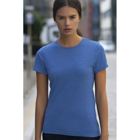 Naisten T-paita triblend SK161