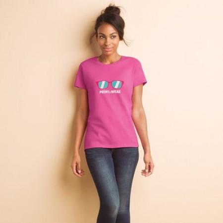 T-paita naisten Heavy T MI-GI500L