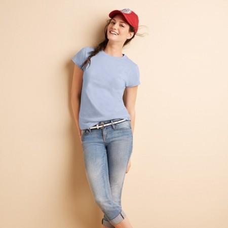 T-paita naisten Lady-Fit Ring Spun MI-GI640L