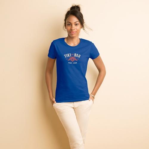 T-paita naisten Premium Cotton MI-GI410L