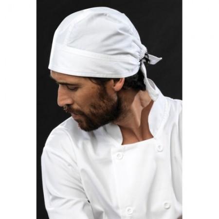 Kokin huivi Chef's Zandana PR658 valkoinen 1