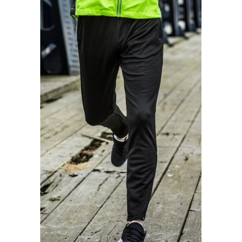 Treenihousut Slim Leg TL580 musta