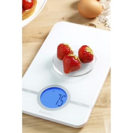 Keittiövaaka digitaalinen BR480584 valkoinen 1