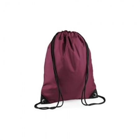 Jumppapussi joka on valmistettu 210D polyesteristä (silver: 210D nailonia). Vahvistetut kulmat, joissa metalliset nauhareiät. Katso lisää sivuiltamme.