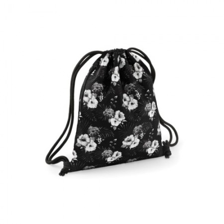 Jumppapussi Graphic BG180 black/mono hawaiian