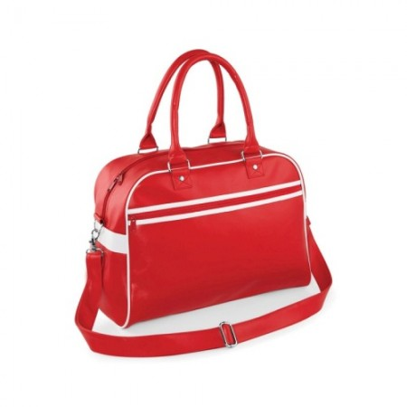 Retrolaukku Original BG95 punainen/valkoinen