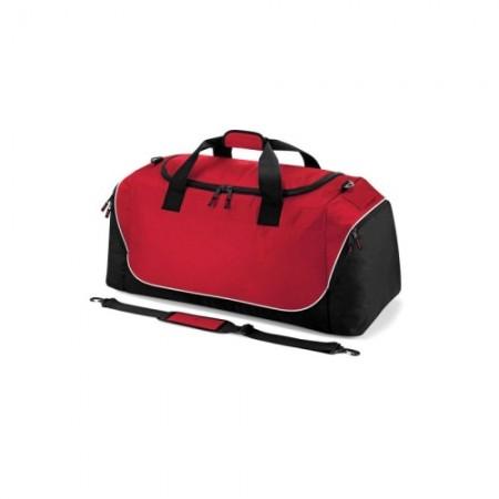 Urheilukassi Teamwear Jumbo QS88 punainen/musta/valkoinen