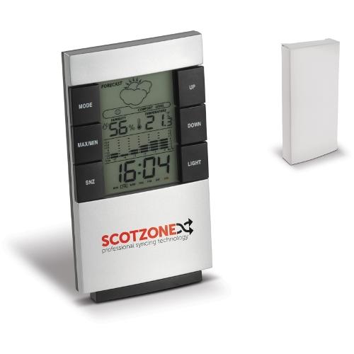 Tämän sähköisen sääaseman avulla pysyt aina ajan tasalla sään suhteen.