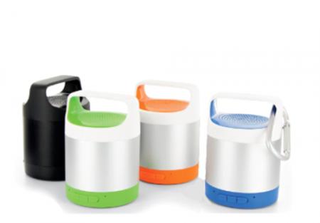 Uusi Mini alumiininen kannettava Bluetooth-kauitin, jossa urheilullinen muotoilu.
