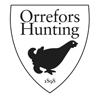 Orrefors hunting logo